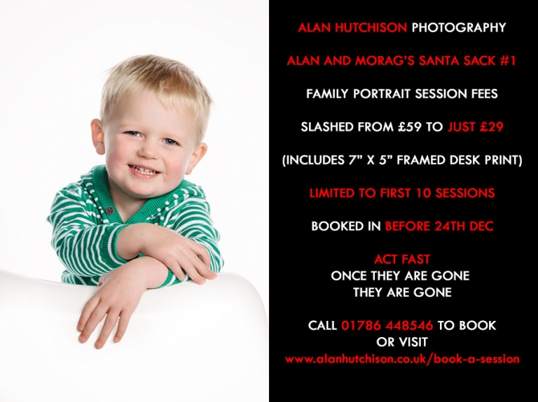 Book your Family Portrait Session Now - Just ?29